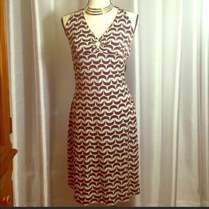Vintage Beautiful Jersey Knit Halter Dress